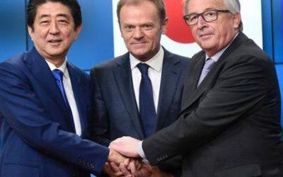 Accordo UE-Giappone: correre al riparo contro i dazi – Gli USA vanno verso l'isolamento, gli altri cercano nuove vie