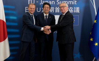 Accordo commerciale Ue-Giappone: registrazione tramite Rex