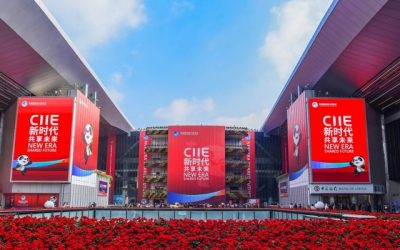 CHINA INTERNATIONAL IMPORT EXPO DI SHANGHAI