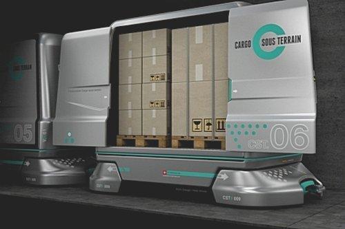 Una rete di trasporto merci sotterranea e automatizzata: la Svizzera ci prova