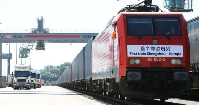 Cina: boom di treni con l'Europa nel 2018