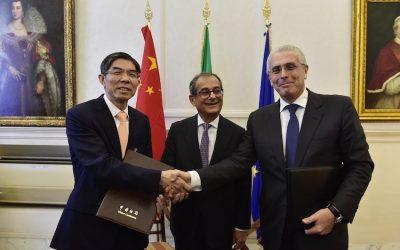 Italia-Cina, accordo tre le dogane per facilitare gli scambi