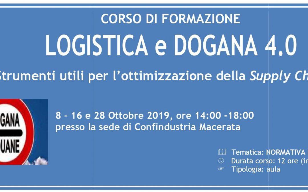 LOGISTICA E DOGANA 4.0 – Strumenti utili per l'ottimizzazione della Supply Chain