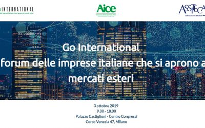 """Go International Milano – """"Dogana 4.0: la digitalizzazione dei processi doganali"""""""
