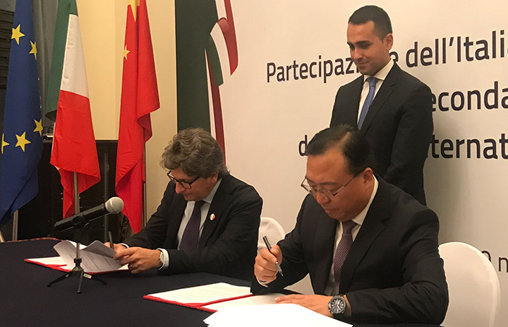 "Memorandum fra il porto di Trieste e China Communications Construction Company, il colosso cinese già ""alleato"" di Genova"