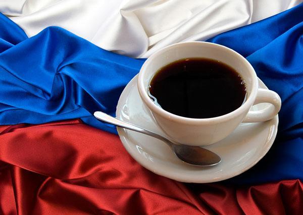 Rassegna dell'importazione di caffè in grani sul mercato russo