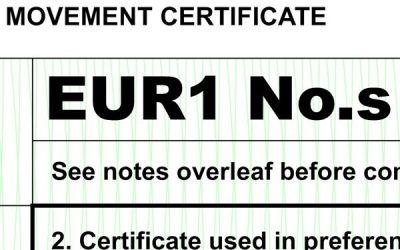 EUR1, EUR MED e ATR: ulteriore proroga al 31 ottobre 2020 per i certificati previdimati